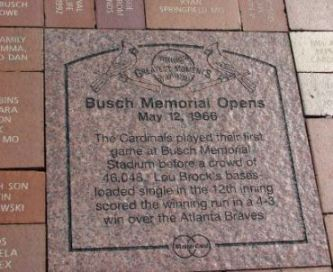 Busch Memorial Opens May 12, 1966