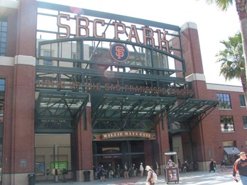SBC Park (or AT&T or whatever) Entrance