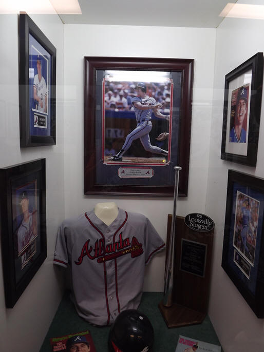 Braves locker