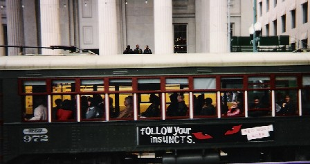 New Orleans Trolley