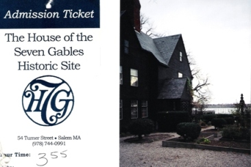 Brochure and pic of House of Seven Gables