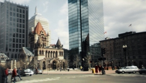 First view of Boston 03/92
