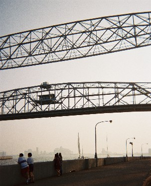 Drawbridge in Duluth, MN