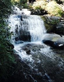 Picture of water falls