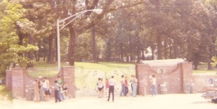 Gate at Graceland